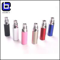 China Rechargeable Cute Silver Ego E-Cig Batteries 350mAH For CE4 CE5 510 on sale