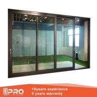 China Aluminum Sliding Glass Patio Doors , Modern Design Custom Sliding Glass Doors wholesale