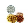 China Resin Bond Diamond Floor Pads , Easy Manipulation Diamond Grinding Pads For Concrete wholesale