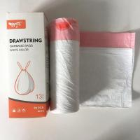 China Large Colored 13 Gallon Dustbin Garbage Bag Drawstring Type Size 60.4*70.3cm wholesale