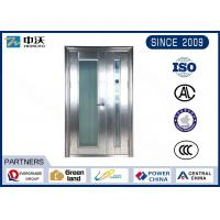 Buy cheap Wear Resistant Fire Safety Door With 304 Stainless Steel Unequal Leaf from wholesalers