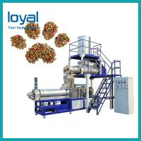 China Good Service Automatic Floating Fish Feed Dry Dog Food Extruder Production Line wholesale
