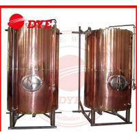 China DYE Semi-Automatic Mini Bright Beer Tank For Brewery 1 - 3 Layers wholesale