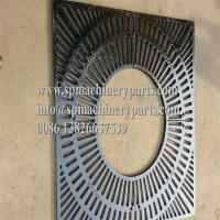 China China Foundry manufactures beautiful New Design cast iron Square Tree Grates With Custom Logos on sale