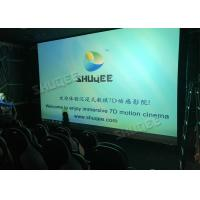 China 380V 9D Movie Theater For Commercial Shopping Mall Or Amusement Attraction wholesale
