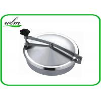 Buy cheap Normal Pressure Stainless Steel Manhole Cover , Tank Round Manhole Cover from wholesalers