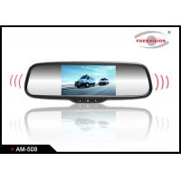 5 Inch Audio Lcd Rear View Mirror Backup Camera System For
