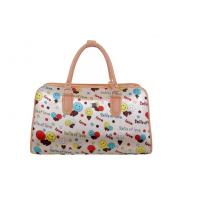 China Durable Oxford fabric Cloth Travel bags with Logo / flower printing wholesale