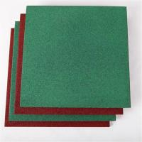 China High quality outdoor wear resistant rubber floor tile for playground wholesale