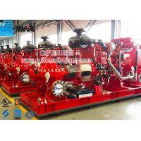 Buy cheap Firefighting Use Fire Pump Set With Split Case Fire Pump And Diese Engine from wholesalers