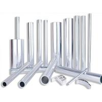 China Extrude 6061 Aluminum Pipe Temper 6 Round Shape 180Mpa Tensile Strength wholesale