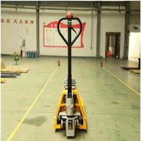 Buy cheap 1.5Ton Jack Electric Pallet Trucks DC Power Motor 24v Voltage from wholesalers