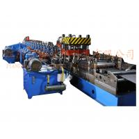 Buy cheap W Beam Highway Guardrail Roll Forming Equipment 8-15m/Min PLC Control 3 Waves from wholesalers