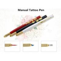 China Permanent Makeup Manual Eyebrow Tattoo Pen For Eyebrow Eyeline Lip Makeup Tattoo on sale