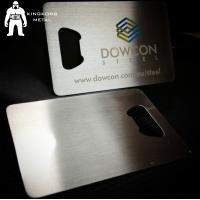 China Metal Beer Bottle Opener Business Card ,  Poker Card Bottle Opener  Promotional wholesale