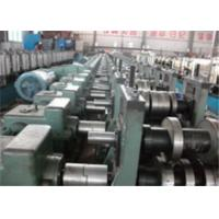 China 60mm Roller Axis Profile Roll Forming Machine , PLC Metal Roll Forming Systems wholesale