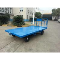 China Portable Airport Baggage Trailer Fool Proof Design Hitch With 3 mm Checker Plate wholesale