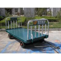 China Blue Airport Luggage Trailer Seamless Steel 42 X 4 mm Tow Bar CE Standard wholesale