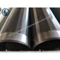 China 304 Water Well Screen Pipe , Johnson Wound Screen Convenient Operation wholesale