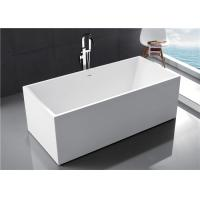 China Multi Coloured Acrylic Free Standing Bathtub With Optimal Interior Space wholesale