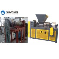 China Plastic Film Drying Pelletizing Pp Recycling Machine With Screw Heaters And Cutting Device wholesale
