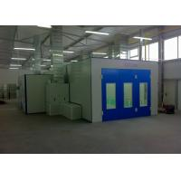 Rooms: Blue Open Face Industrial Paint Spray Booth High