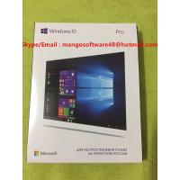 China Online Activation  USB 3.0 Russian Language Windows 10 Pro 32BIT 64 Bit Retail  FPP Key wholesale