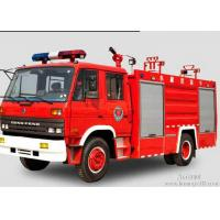 China 4x2 8000 litres water tanker fire truck  Power steering with high pressure pump wholesale