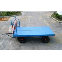 China 2 Ton Airport Ground Support Equipment Airport Baggage Cart 30 Km / H Speed wholesale