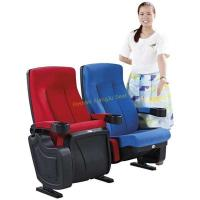 China High Back Reclined Home Cinema Theater Chairs With Fireproof Fabric wholesale