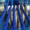 China 8 Strand blue color Polypropylene floating rope wholesale