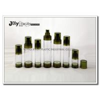 China Bottle Diameter 33mm Airless Pump Bottles For Cosmetics WITH Capacity 15ml Bottle Height 92mm wholesale