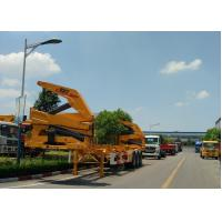 China Xcmg 20ft Truck Mounted Crane Container Side Lifter With Max 37 Tons Load Capacity wholesale