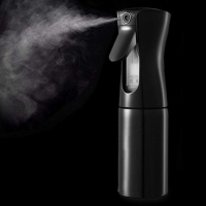 China Plastic PP Custom Design Black Fine Mist Continuous Spray Bottles wholesale