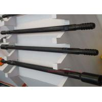 China Hollow Sucker Threaded Drill Rod Carbon Steel For Drilling Project Black Color wholesale