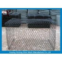 Easy install pvc coated gabion baskets fence for