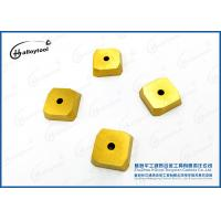 China Durable Cemented Tungsten Carbide Insert For Face Milling Cutter K10~K30 on sale
