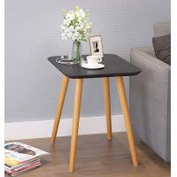 China Black Square Solid Center Table On Black Color White Color With Smooth Foot wholesale