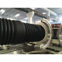 China PVC Double Wall Corrugated Pipe Production Line / Extruder High Speed wholesale