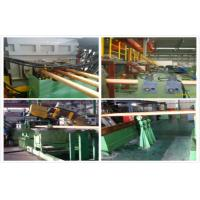 China Hydraulic Copper Continuous Casting Machine Water Cooling For 300 mm Brass Pipes wholesale