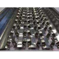 Quality 0.23 / 0.3mm Thickness High Ribbed Formwork 0.45m Width Hot Dipped Galvanized Material for sale