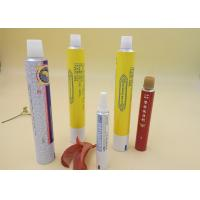 China Aluminum Printed Tube Packaging For Ointment Cream / Gel Screw Cap wholesale