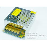 Quality 12V 5A LED Light Power Supply 60W DC12V Constant Voltage Switching Power Supply for sale