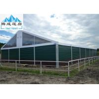 China Fireproof ABS Wall Aluminum Sporting Event Tents 20x50m For Permanent Match wholesale