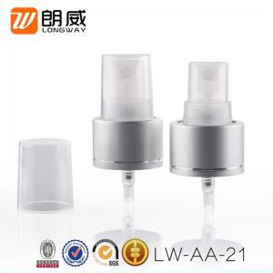 China Cosmetic Usage Fine Mist Sprayer , Aluminum 24/410  Fine Mist Paint Sprayer wholesale