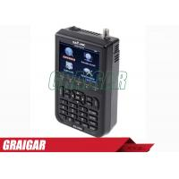 China WS -6908 3.5 Inch DVB - S FTA Satellite Signal Meter 950mhz - 2150mhz wholesale