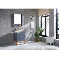 China Asian Style Waterproof PVC Bathroom Vanity Furniture For Hotel Room wholesale