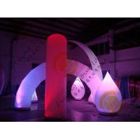 China Advertising Inflatable Arch Balloon Led Lighting For Festival Decoration wholesale