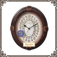 China original modern design wall time clock Hand-painted Decorative Clock Gifts B8031-1 on sale