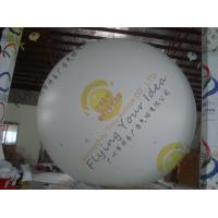 China Large Helium Inflatable Advertising Balloons Fireproof 0.28mm Blank White PVC wholesale